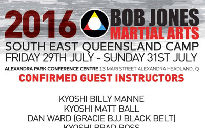 South East Queensland Camp – July 2016