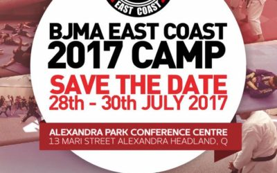 BJMA East Coast Camp 2017 –  Save the Date 28-30th July