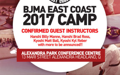 BJMA East Coast Camp 2017 – 28-30th July