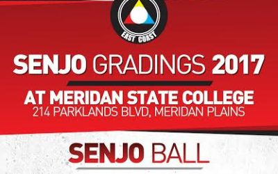 Senjo Gradings 2017 – Save the Date 11 November