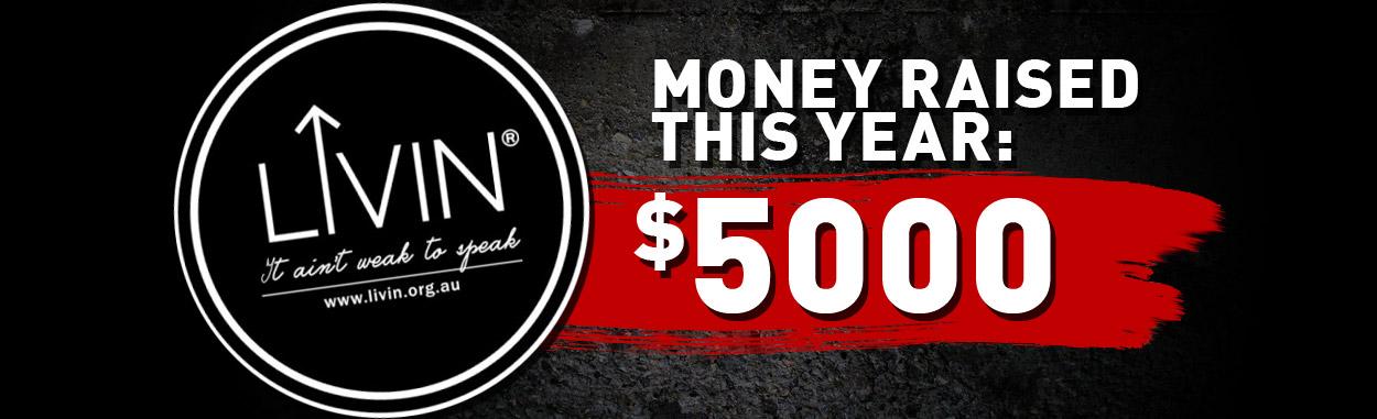 Chikara Martial Arts has raised $5000 for charity this year!