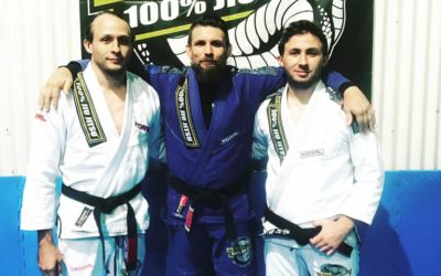 Congratulations to Tim & Dave for earning their Brazilian Jiu Jitsu Black belts!